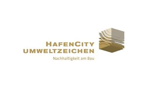 Umweltzeichen_Hafencity_HCH_Nachhaltigkeit am Bau